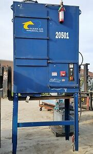 2007 Clean Air America Dfc 8 Cartridge Fume Collector extractor W 7 5 Hp Motor