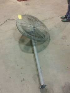 30 Tpi Industrial Pedestal Mount Electric Fans Model Ach 30
