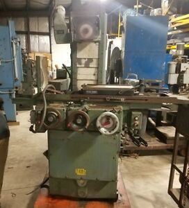 Brown Sharpe 6 X 18 Micromaster Hydraulic Feed Surface Grinder Perm Chuck
