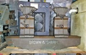 Brown Sharpe Bench Centers 30 Dia Swing X 32 W 2x Removable Riser Blocks