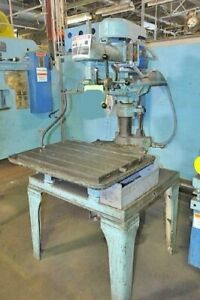 30 Walker Turner Radial Arm Drill Press 6 Quill Travel 1 2 Hp 230 460v 3 60