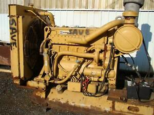 Cat D343 Caterpiller 6 cyl Turbo Diesel Engine 14 6l Complete Power Unit 395hp