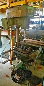 20 Rockwell 6 H d Pedestal Base Heavy Duty Drill Press 20 W 8 Spindle Speeds