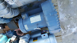Eg g Rotron Regenerative 5 Hp Vane Blower Ring Compressor Model dr707k72x