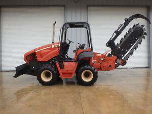 2003 Ditch Witch Rt70m Trencher New Dirt Chain 6 Way Backfill Blade Vermeer