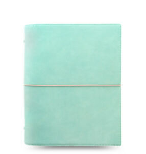 Filofax Domino Soft Organizer Duck Egg Blue A5 Size New 022601