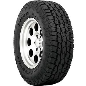 4 New P 255 70r17 Toyo Open Country A t Ii Tires 70 17 R17 2557017 70r Black At