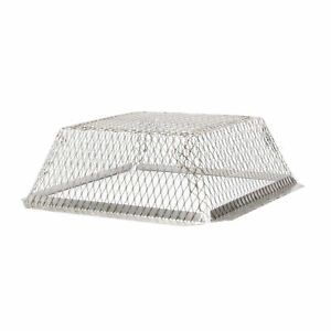 Roof Vent Guard Stainless Steel Single Pack 25 X 25