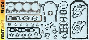 1957 1966 Buick 364 400 401 425 Nailhead Engine Gasket Set Best Free Shipping