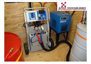 Spray Foam Equipment Graco Rig Machine don t Buy Junk 16 Years On Ebay