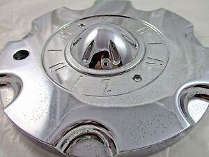 Zinik Very Used Chrome Custom Wheel Center Cap z 8 for 1 Cap