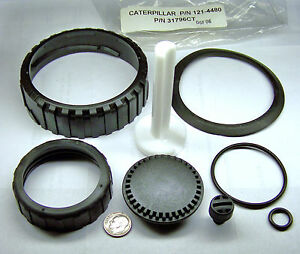 Caterpillar Dv100 1214480 31796ct New Fuel Water Seperator Parts Base Kit 8 Pc