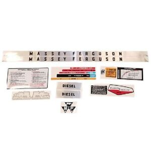 Decal Set For Massey Ferguson 175