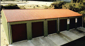 Steel Insulated 6 car Garage Metal Building Shop Kit