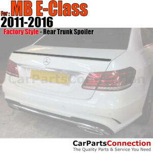Painted Trunk Spoiler For 11 16 Mercedes Benz E class 2dr No Drill 590 Mars Red