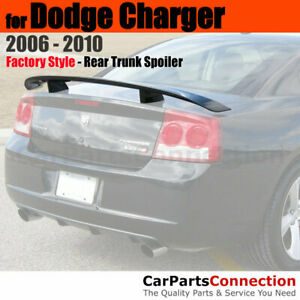 Painted Trunk Spoiler For 2006 2010 Dodge Charger Daytona Style Mtb Flat Black
