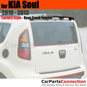 Painted Abs Trunk Roof Spoiler Top For 2010 2013 Kia Soul Wagon 3d Bright Silver