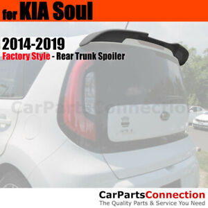 Painted Abs Rear Trunk Spoiler For 14 Kia Soul Flush Mount 9h Shadow
