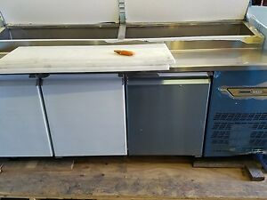Quality Italian Stainless Refrigerated Prep Table