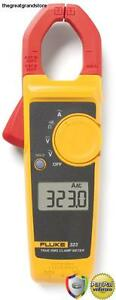 Clamp Meter Digital Ac Multimeter New Tester Fluke Dc Voltage Rms True Amp Test