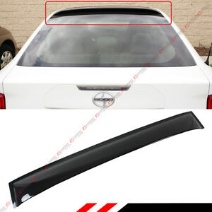 For 2011 16 Scion Tc 2nd Gen Agt20 Jdm Smoke Tinted Rear Roof Aero Window Visor