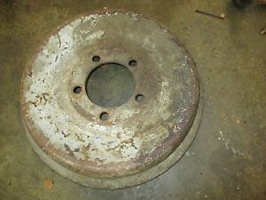Jaguar Xk120 And Jaguar Xk140 Brake Drum original