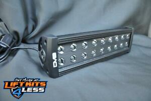 Dv8 Offroad Br12e72w3w 12 Light Bar 72w Flood spot 3w Led Black Universal