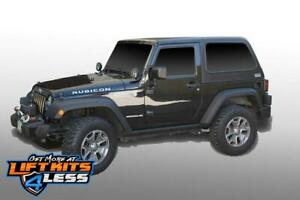 Dv8 Ht07fb22 Hard Top Fast Back For 2007 2018 Jeep Wrangler Jk 2 Door 2wd 4wd
