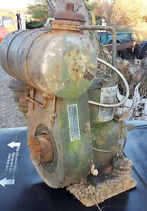 Antique Army Briggs And Stratton Portable Engine With Drive Ww2 Power Unit