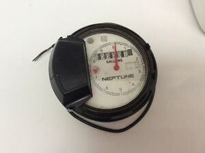 New Neptune Water Meter 1 T 10 Auto H65n Register Head Gallons