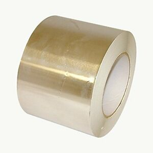 Aluminum Foil Tape Linered Silver Core Diameter Adhesive Release Mils Paper Heat