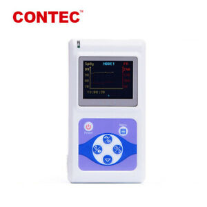 Fda 24h Finger Pulse Oximeter Spo2 Pr Sleep Heart Rate Monitor Alarm Software