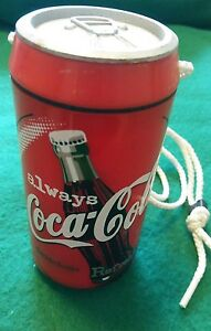 Mini STASH CAN Coca Cola Necklace Water Proof Perfect for the Beach Camping Etc.