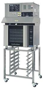 Moffat E31d4 ovh 31d Electric Convection Oven Half Size 4 Pan W Stand Hood
