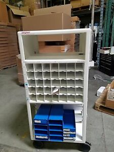 Stryker Endoscopy Wheel Cart With Tools Arm Mount And Organizer