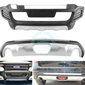 1set Front Rear Bumper Board Protector Guard Bar For Ford Edge 2009 2011 2012
