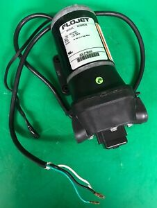 Flojet Quad Series Self Priming Pump Model 04300525 115 Vac 5 Gpm 45 Psi Max