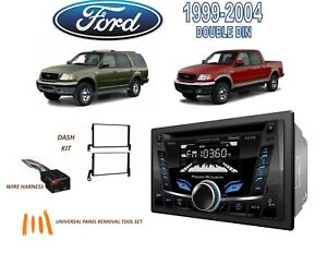 1999 2004 Ford F 150 1999 2002 Expedition Stereo Kit Bluetooth Cd Usb Aux