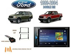 1999 2004 Ford F 150 1999 2002 Expedition Stereo Kit Dvd Touchscreen Bluetooth