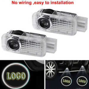 4pcs For Audi A4 A5 A6 A7 A8 A3 Led Projector Light Laser Door Lamp New