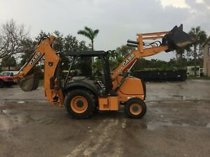 2015 Case 580n 4wd 154 Hours