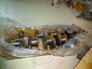 Case 4 390 Cummins 3 9 Diesel Engine Crankshaft Fresh Turn 010 Crank 4bt 4t 390