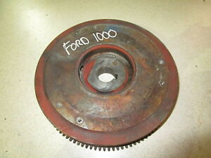 Ford 1000 Shibaura Le892 Flywheel Diesel Engine 892 Tractor