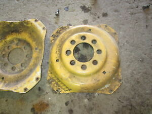 Ford 340b Wheel Centers Nice Nos Tractor 340 540b Tire Rim