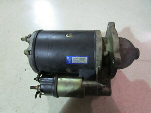 Ford Tractor Starter Nice 201 256 Diesel Engine 5610 4610 4630 4000 2000 6610