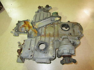 Kubota V1902 Timing Case Cover Diesel Engine Bobcat Reefer 1902