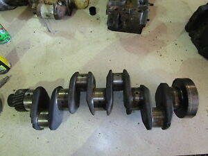 Perkins 4 236 Crankshaft Crank Diesel Engine 4 236 Massey Ferguson Lincoln