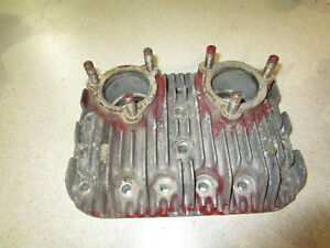 Wisconsin Vg4d Cylinder Head Schramm Air Compressor Vg4 Gas Engine