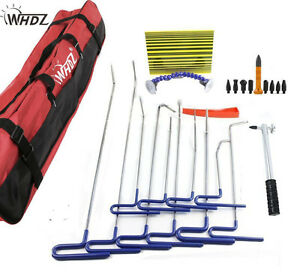 Dent Tools Ding Dent Repair Rods Professional Paintless Hail Removal Big Kit b