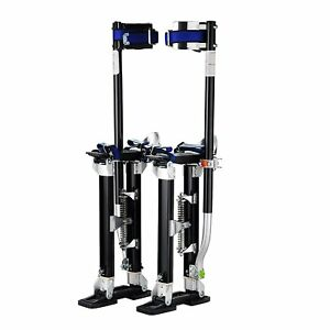 Aluminum Drywall Stilt Tool Skywalker Height Adjustable For Painting Electrical